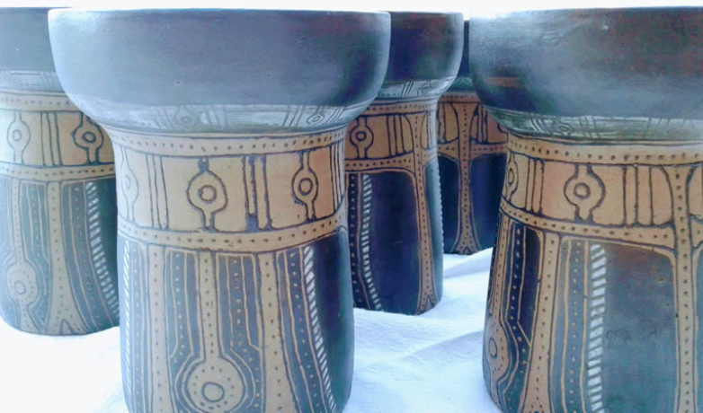 Vasos Vikingos Mishima Gres